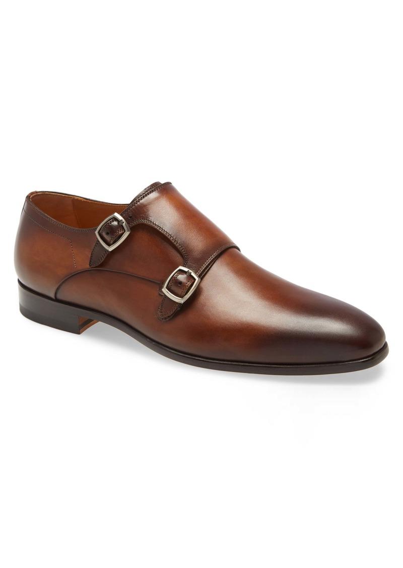 Magnanni Lisbon Double Monk Strap Shoe (Men)