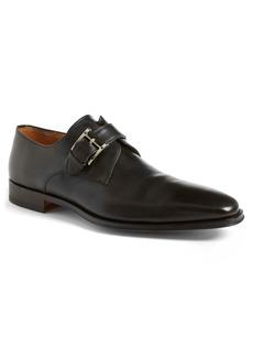 Magnanni Marco Plain Toe Monk Shoe (Men)