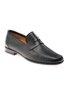 Magnanni Men's Ramos Leather Penny Loafers