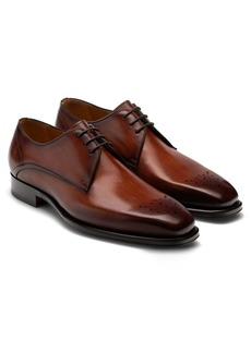 Magnanni Merrion Medallion Toe Derby (Men)
