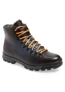 Magnanni Oberon Genuine Shearling Lace-Up Hiking Boot (Men)