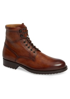 Magnanni Patton Plain Toe Boot (Men)