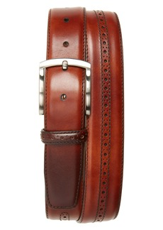 Magnanni Perforated Leather Belt