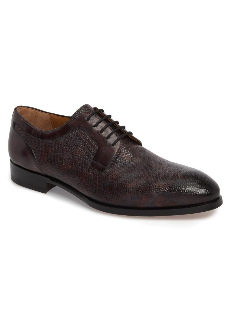 MagnanniMen's Porter Textured Plain Toe Derby WAjfwjaeRN