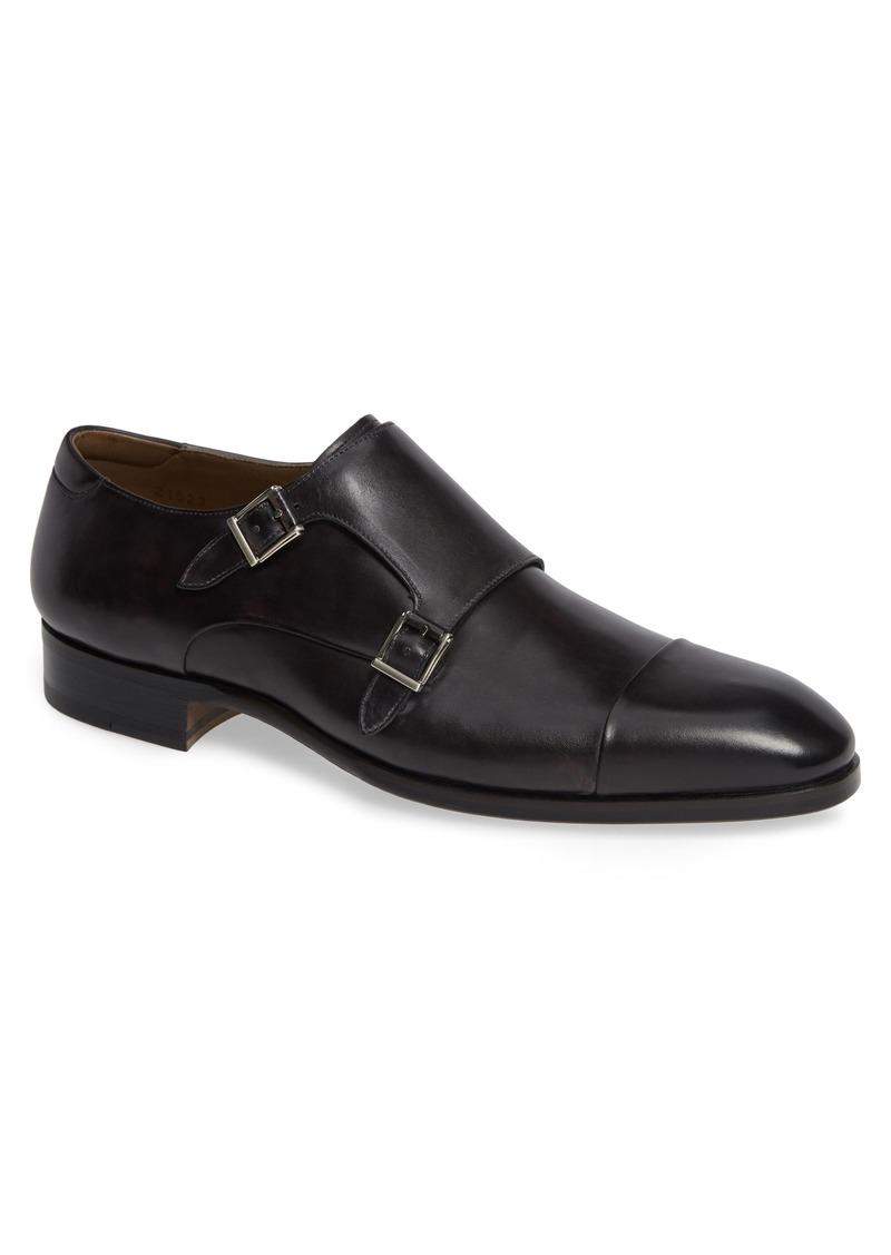Magnanni Riva Double Monk Strap Shoe (Men)