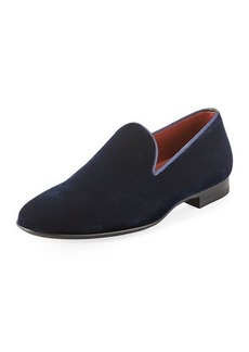 Magnanni Velvet Slip-On Loafer