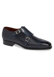 Magnanni Wooster Double Monk Strap Shoe (Men)