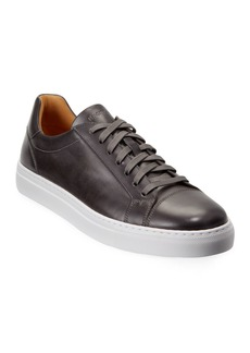 Magnanni Men's Boltan Leather Low-Top Sneakers