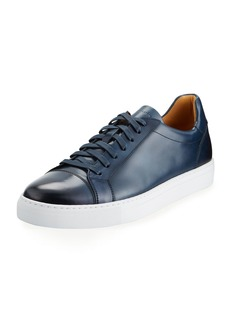 Magnanni Men's Boltan Low-Top Leather Sneakers