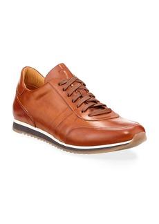 Magnanni Men's Buterlight Leather Sneakers  Cognac