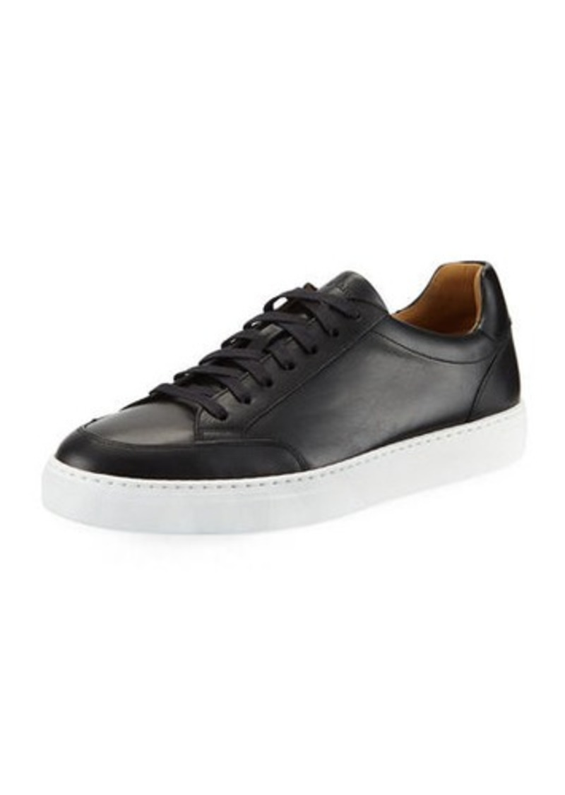 Magnanni Men's Butero Leather Low-Top Sneakers