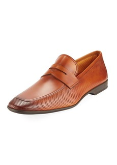 Magnanni Men's Butero Perforated Slip-On Loafer