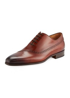 Magnanni Men's Guadiana Brogue-Trim Dress Shoes