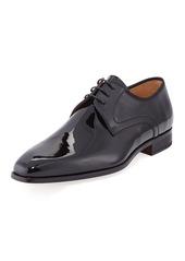 Magnanni Men's Patent Leather Lace-Up Dress Shoes