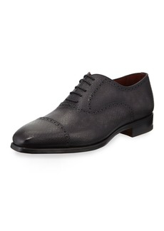 Magnanni Men's Textured Lace-Up Dress Shoes
