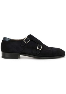 Magnanni monk strap shoes