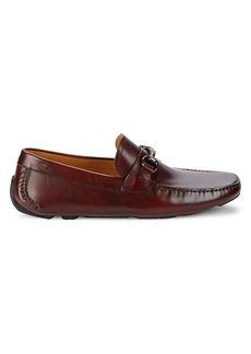 Magnanni Leather Bit Driving Shoes