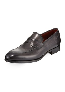 Magnanni Smooth Leather Penny Loafer