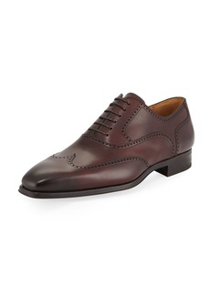 Magnanni Wingtip Leather Lace-Up Shoe