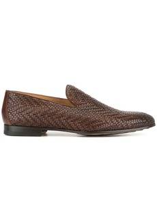 Magnanni woven loafers