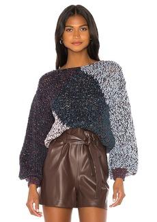 Maiami Tweedy Rhomb Sweater