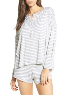 Maison du Soir Courtney Stripe Pajama Top
