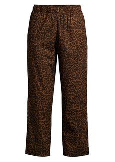 Maison du soir Positano Cheetah Print Pajama Pants