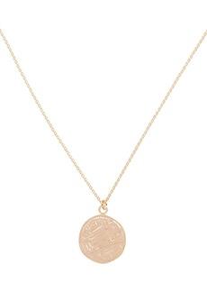Maison Irem Dua Coin Pendant Necklace