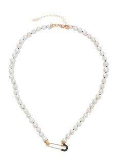 Maison Irem - Women's Goldy Jazz Pearl 18K Gold-Plated Necklace - Gold - Moda Operandi