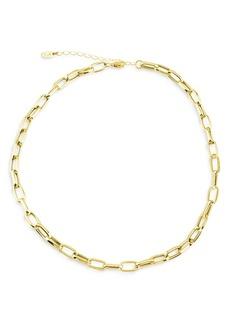 "Maison Irem Chunky Chain Link Choker Necklace, 16-18"""