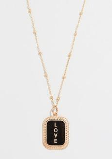 Maison Irem Love Tag Necklace