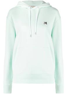 Maison Kitsuné Fox-logo cotton hoodie