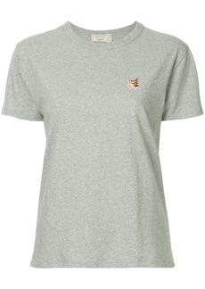 Maison Kitsuné fox patch T-shirt