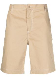 Maison Kitsuné knee-length chino shorts