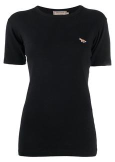 Maison Kitsuné logo-patch T-shirt