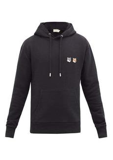 Maison Kitsuné Double Fox Head-patch hooded sweatshirt