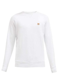Maison Kitsuné Fox Head cotton-jersey sweatshirt