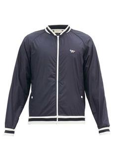 Maison Kitsuné Windbreaker varsity jacket