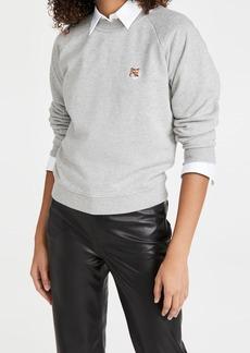 Maison Kitsuné Maison Kitsune Fox Head Patch Sweatshirt