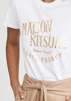 Maison Kitsuné Maison Kitsune Palais Royal T-Shirt