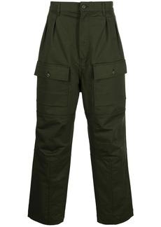 Maison Kitsuné straight-leg cargo trousers