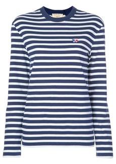 Maison Kitsuné striped T-shirt