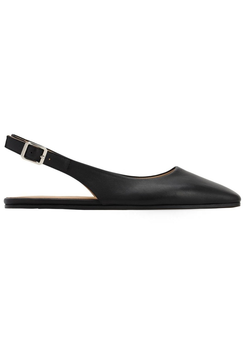 Maison Margiela 10mm Leather Slink Back Flats