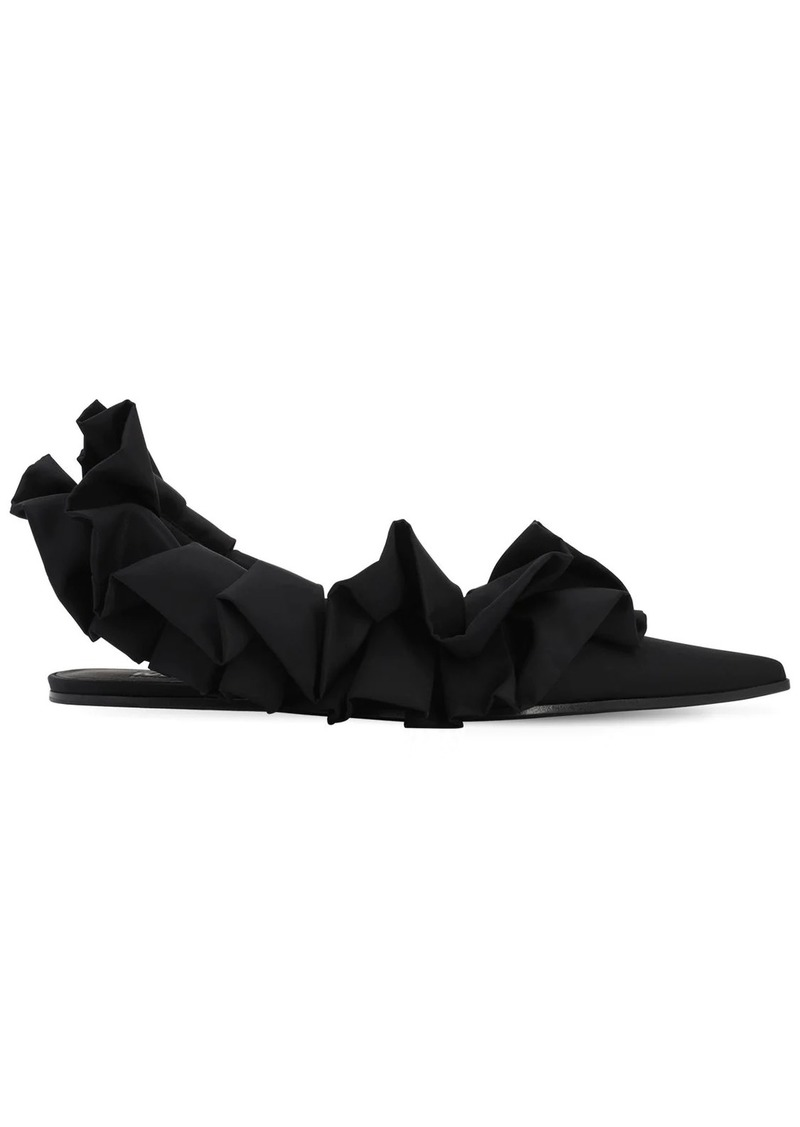 Maison Margiela 10mm Satin Sling Back Flats
