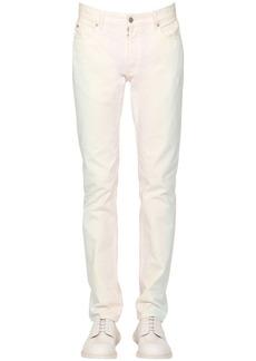 Maison Margiela 18cm Slim Rainbow Dye Cotton Denim Jeans