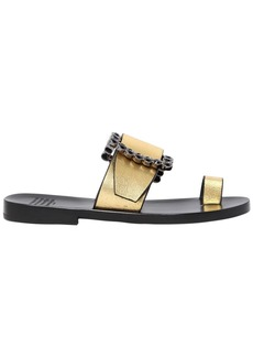Maison Margiela 20mm Metallic Leather Sandals