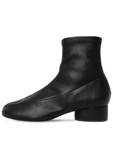 Maison Margiela 30mm Tabi Faux Leather Sock Boots