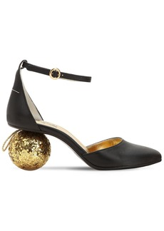 Maison Margiela 60mm Sphere Heel Leather Pumps