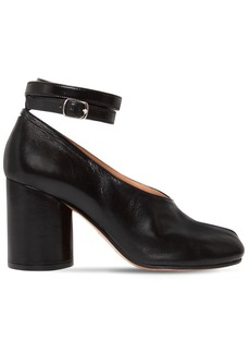 Maison Margiela 80mm Tabi Leather Pumps