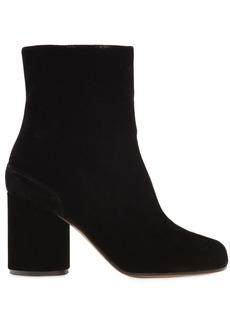 Maison Margiela 80mm Tabi Velvet Boots